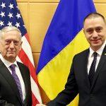 Pentagon: Ministrul Mihai Fifor s-a întâlnit cu secretarul american al Apărării, James Mattis