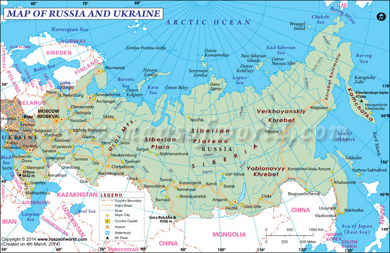 Russian View Of Ukraine 91